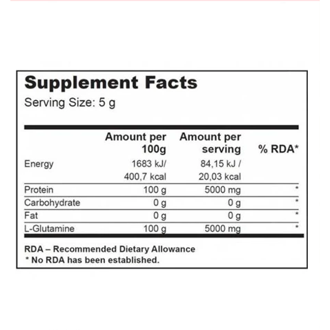 Biotech USA Glutamine Zero 300g - Supplements-Direct.co.uk