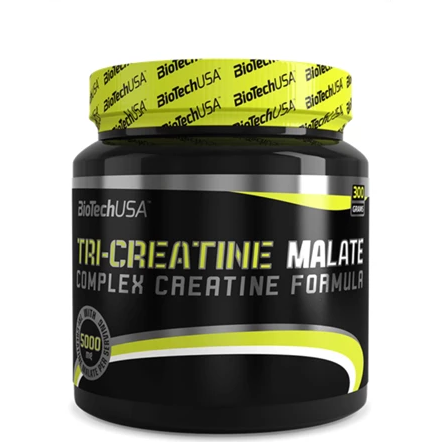 BIOTECH Tri Creatine Malate - Unflavoured - 300g - GymSupplements.co.uk