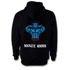 Muscle Ammo Classic Hoody - Black - GymSupplements.co.uk