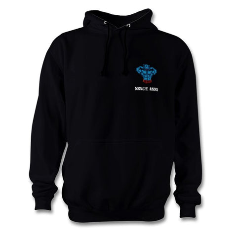Muscle Ammo Classic Hoody - Customised - Black - GymSupplements.co.uk