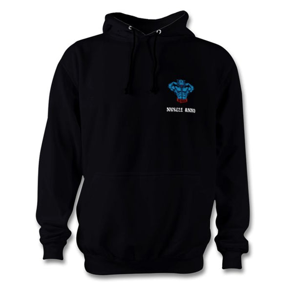 Muscle Ammo Classic Hoody - Black - Supplements-Direct.co.uk