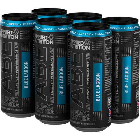 ABE - Energy + Performance 6x330ml Cans - Blue Lagoon