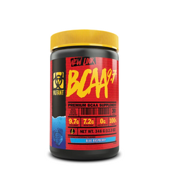 Mutant BCAA 9.7 348g - Blue Raspberry - GymSupplements.co.uk