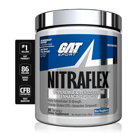 GAT Nitraflex Pre Workout - 300g - GymSupplements.co.uk