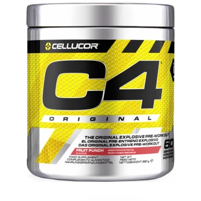 Cellucor C4 Original Pre-Workout 180g - 28 Servings - GymSupplements.co.uk