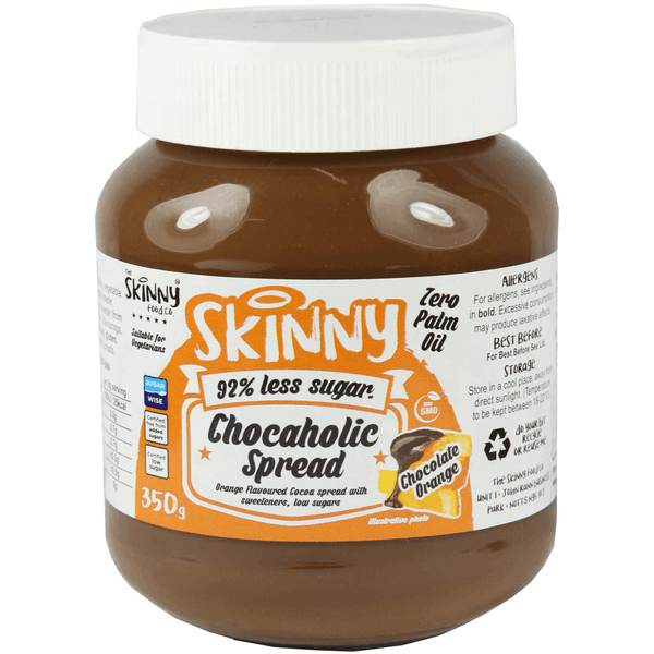 The Skinny Food Co. Low Sugar Chocaholic Chocolate Spread 350 g - Supplements-Direct.co.uk