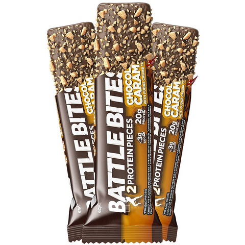 Battle Snacks Battle Bites 12x60g - Chocolate Caramel