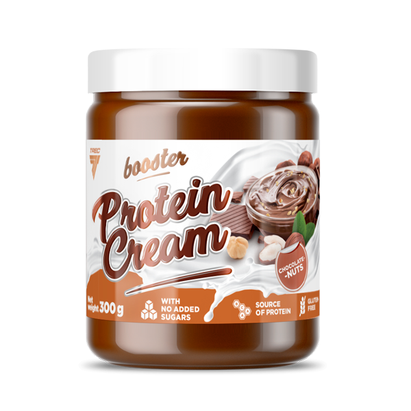 Trec Nutrition Booster Protein Cream - Supplements-Direct.co.uk