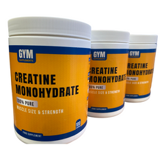 Creatine Monohydrate - 100 Servings - GymSupplements.co.uk