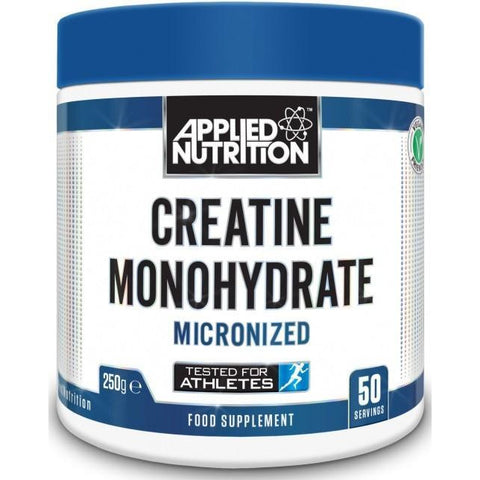 Applied Nutrition - Creatine Monohydrate - Unflavoured - 250g - Supplements-Direct.co.uk