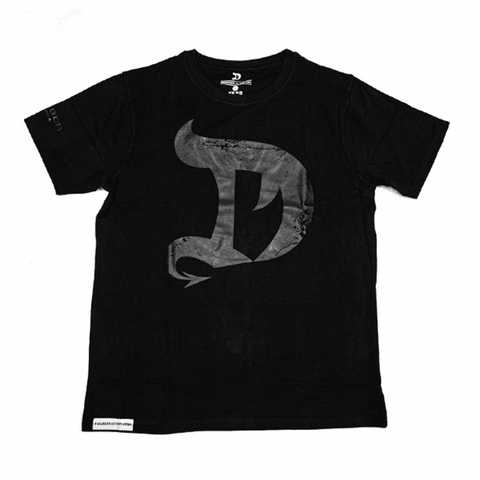 DRAGON PHARMA Tshirt Black on Black - Supplements-Direct.co.uk