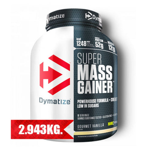 Dymatize Super Mass Gainer - 2.943kg - Supplements-Direct.co.uk