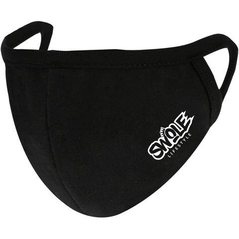 SWOLE LIFESTYLE Reusable Cotton Mask - Black