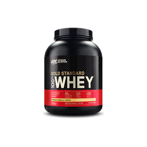 Optimum Nutrition Gold Standard Whey Protein 2.27KG - Supplements-Direct.co.uk