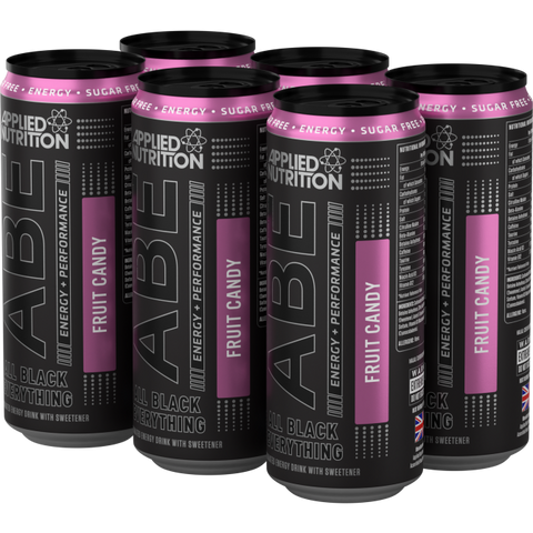 ABE - Energy + Performance 6x330ml Cans - Fruit Candy - GymSupplements.co.uk