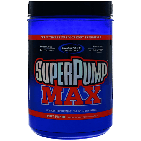 Gaspari Nutrition SuperPump Max 640g - Supplements-Direct.co.uk