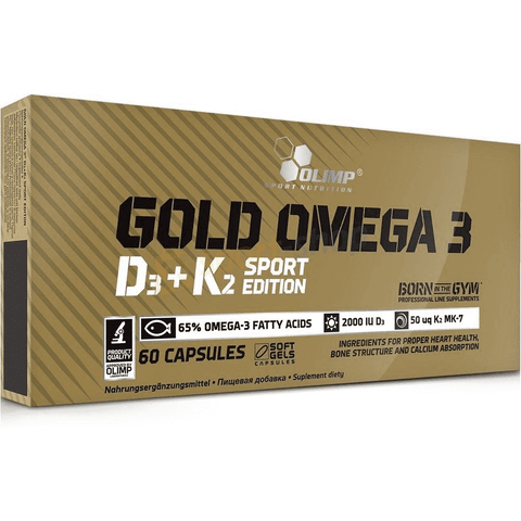 Olimp Gold Omega 3 D3 + K2 Sport Edition - Supplements-Direct.co.uk