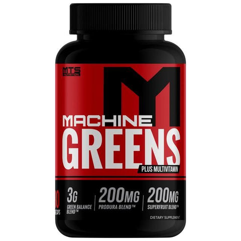 MTS Nutrition Machine Greens 180 Caps - Supplements-Direct.co.uk