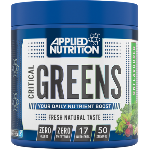 Applied Nutrition Critical Greens 250g Unflavoured - Supplements-Direct.co.uk