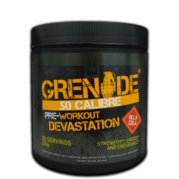 Grenade 50 Calibre Pre-Workout 232g - GymSupplements.co.uk