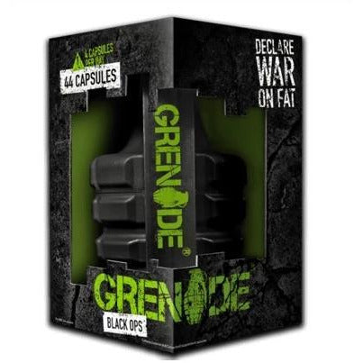 Grenade - Black Ops - Fat Burner - GymSupplements.co.uk