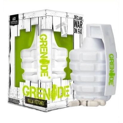 Grenade - Killa Ketones - Fat Burner - 60 Capsules - Supplements-Direct.co.uk