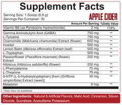 5% Nutrition Knocked The F*ck Out - Apple Cider Vinegar *NEW FLAVOUR* - GymSupplements.co.uk