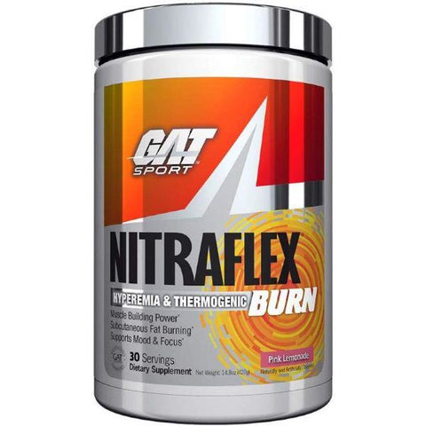 GAT Nitraflex Burn - 318 grams - GymSupplements.co.uk