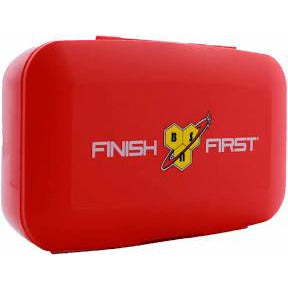 BSN Pill Box Supplement Capsule Organiser Tablet Caplets In Red - Supplements-Direct.co.uk