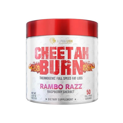 Alpha Lion Cheetah Thermogenic Fat Loss Formula - Rambo Razz - GymSupplements.co.uk