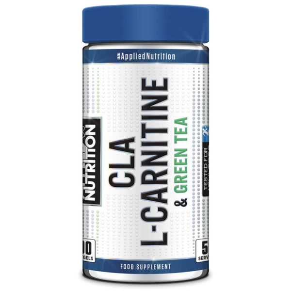 Applied Nutrition CLA, L-Carnitine and Green Tea x 100 Softgels - Supplements-Direct.co.uk