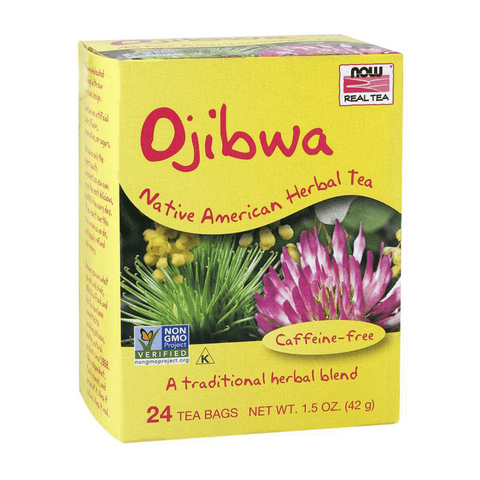 NOW Foods Ojibwa Native American Herbal Tea - Caffeine Free