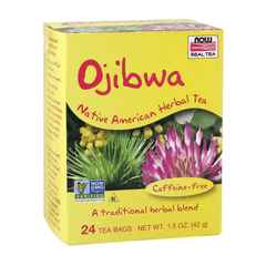 NOW Foods Ojibwa Native American Herbal Tea - Caffeine Free - GymSupplements.co.uk