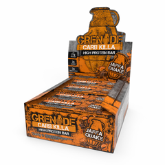 Grenade Carb Killa Low Sugar Protein Bar (12 x 60g Bars) 13 Flavours - GymSupplements.co.uk