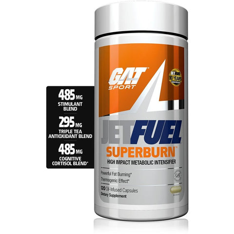 GAT Sports Jet Fuel Superburn - 144 Caps - GymSupplements.co.uk