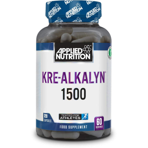 Applied Nutrition Kre-Alkalyn 1500 - 120 Capsules - Supplements-Direct.co.uk
