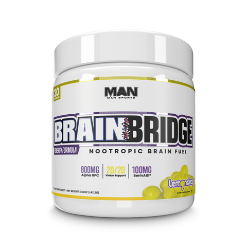 MAN Sports BrainBridge 125g - *NEW* - GymSupplements.co.uk