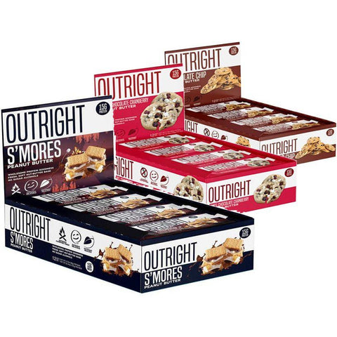 MTS Nutrition Outright Bar 12x 60g - Supplements-Direct.co.uk