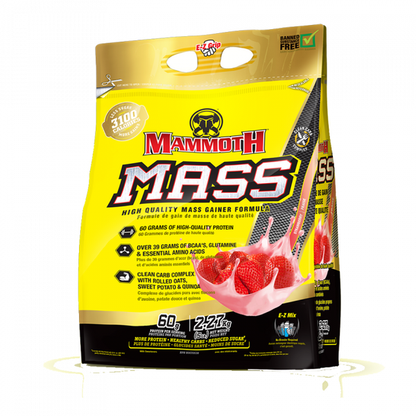 Mammoth Mass 2.2Kg - GymSupplements.co.uk
