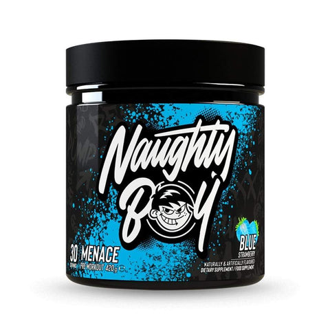 Naughty Boy Lifestyle Menace 420g - Blue Strawberry - GymSupplements.co.uk