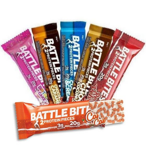 Battle Snacks Battle Bites 1x60g - Single Bar