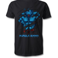 Muscle Ammo T-Shirt - Black - Supplements-Direct.co.uk