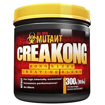 Mutant Creakong Tri-Creatine Monohydrate Powder 300g - GymSupplements.co.uk