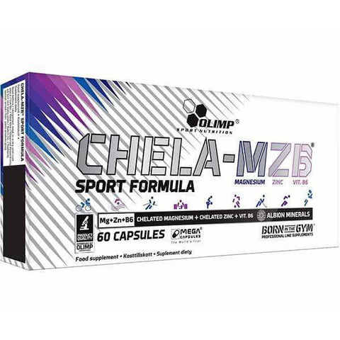 Olimp Nutrition - Chela-MZB 60 Caps - Supplements-Direct.co.uk