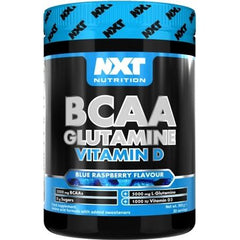 NXT Nutrition BCAA, Glutamine Vit D (360g) 30 Servings - Supplements-Direct.co.uk