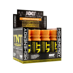 TNT NUCLEAR Pre-workout Shot Box NXT NUTRITION (12x60ml) - Supplements-Direct.co.uk