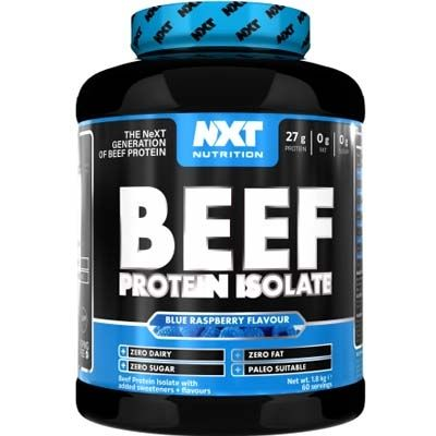 NXT Nutrition Beef Protein Isolate 1.8kg - Supplements-Direct.co.uk