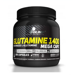 Olimp Nutrition - Glutamine 1400 (300 Capsules) - Supplements-Direct.co.uk