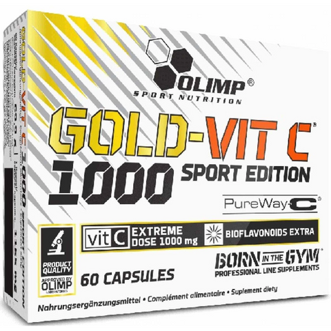 Olimp Gold-Vit C 1000 Sport Edition 60 caps - Supplements-Direct.co.uk