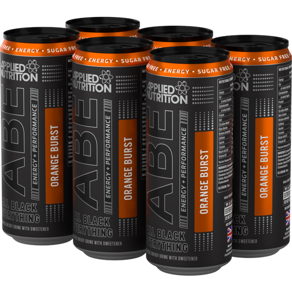 ABE - Energy + Performance 6x330ml Cans - Orange Burst